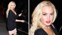Lindsay Lohan -- Partying Before Jail
