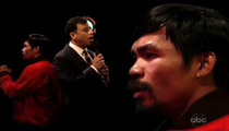 Manny Pacquiao and Jimmy Kimmel -- Most OFF-Key Duet ... EVER!!!