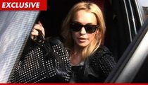 Lindsay Lohan -- Released from Jail