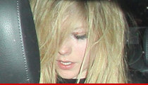 Avril Lavigne -- Worse for Wear After Fight