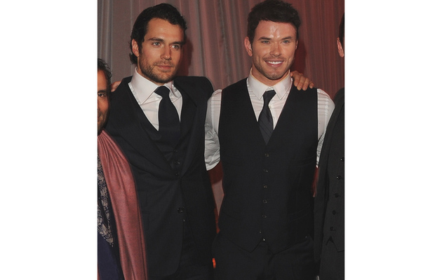 "Henry, Kellan & Freida: Hotties Invade ""Immortals"" Premiere!"
