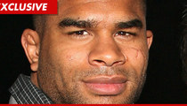 UFC Badass Alistair Overeem Sues -- My Managers are Morons