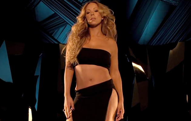 Mariah Carey Bares Belly After 70lb Weight Loss!