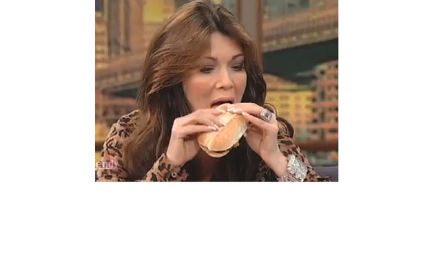 """Real Housewives"" Star Swallows Her Pride ... and a McRib"