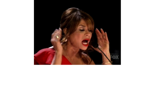 "Paula Abdul Reduced to Tears on ""X Factor"""