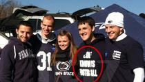 Penn State -- Mixed Messages at Tailgate
