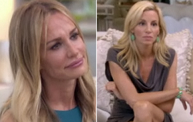 """Real Housewives"" Cast Confronts Taylor Armstrong"