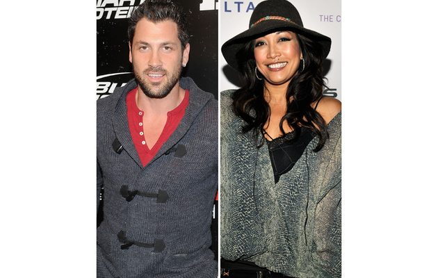 "Maksim Chmerkovskiy's F-Bomb for ""Dancing"" Judge Carrie Ann Inaba"