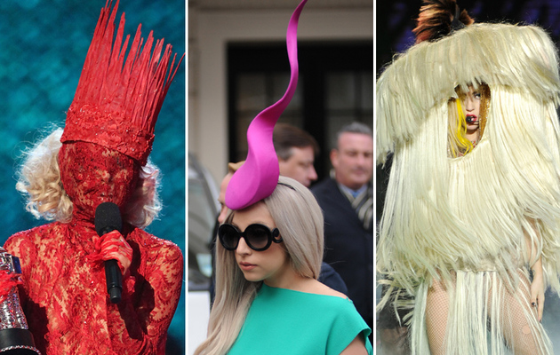 Lady Gaga's Most Outrageous Headwear