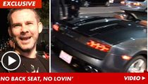Dominic Monaghan -- It's Tough to Hook Up in a Lamborghini