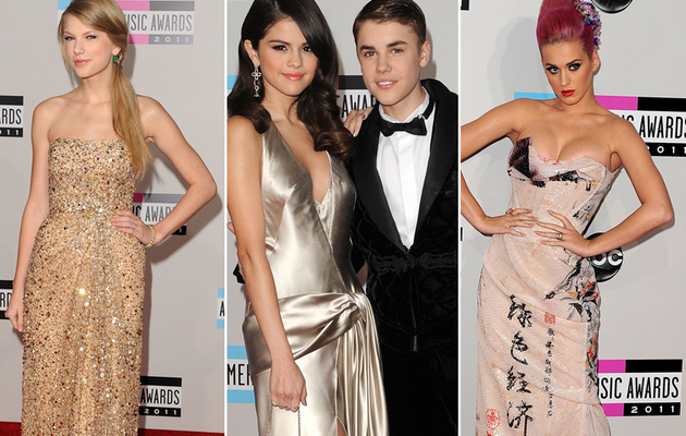 American Music Awards: All the Hot Red Carpet Pics!