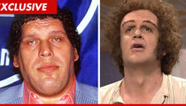 Andre the Giant -- Family Speaks Out Over Jason Segel's 'SNL' Impression