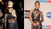 Lady Gaga vs. J.Lo -- The Lace Off