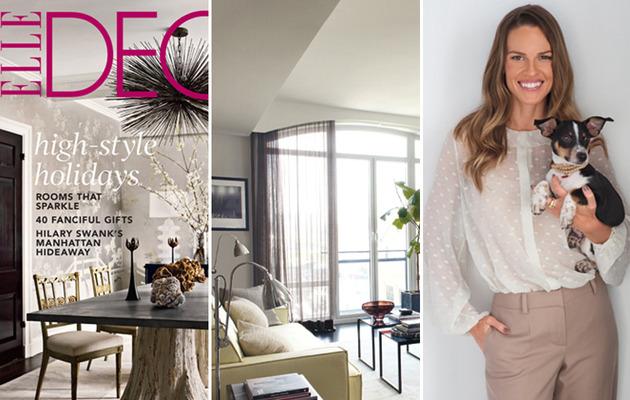 Inside Hilary Swank's Chic NY Apartment!