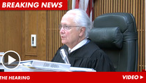 Judge to Selena Gomez -- Sorry, No Permanent Protection ... For Now