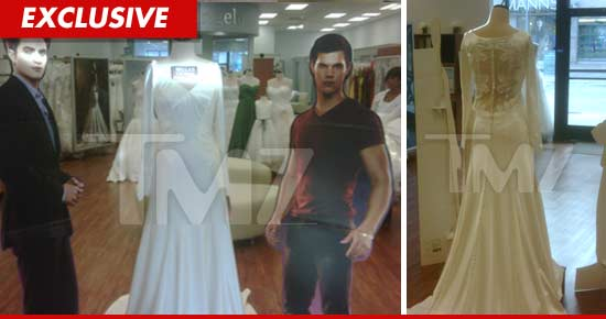 Twilight\' Fans Fake Engagements to Try on Bella Wedding Dress ...