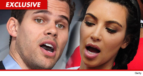 Kris Humphries and Kim Kardashian arguing