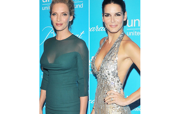 Uma Thurman, Angie Harmon Stun at UNICEF Event