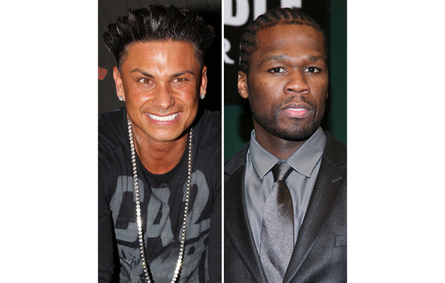 """Jersey Shore"" Star Pauly D Teams Up with 50 Cent"