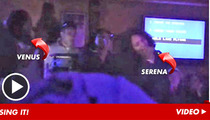 Venus & Serena Williams -- We Can SING Like Madonna [Video]