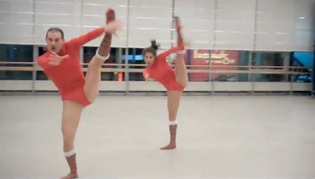 Hilarious Dancers Do Mariah Carey Holiday Classic!