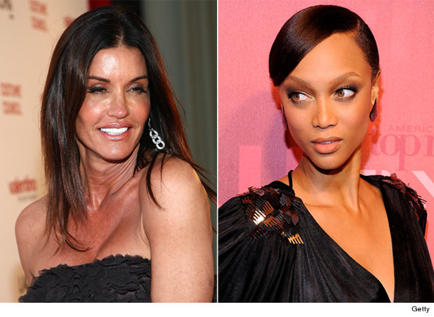janice dickinson tyra banks