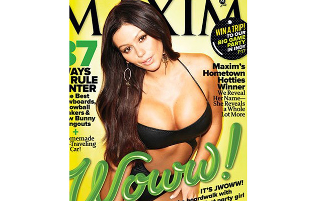 Jwoww's Face In Sexy Maxim Spread Divides Fans