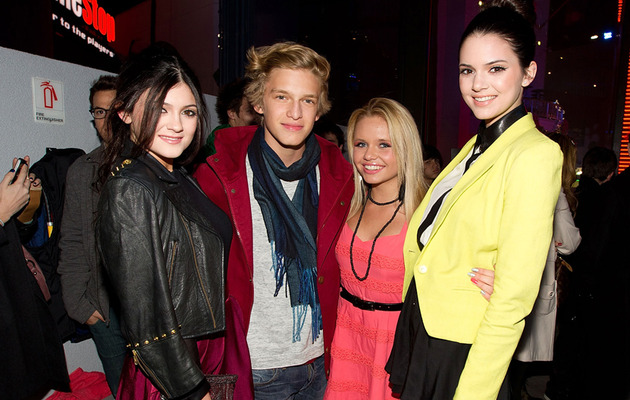Kylie Jenner Goes Public with Cody Simpson