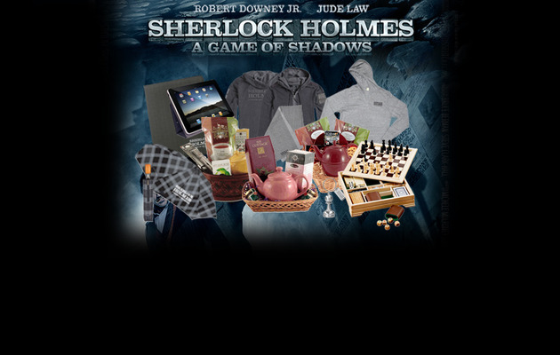 "Win a ""Sherlock Holmes: A Game of Shadows"" Prize Pack"