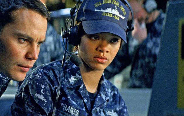"First Look: Rihanna's Film Debut in ""Battleship"""