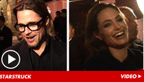 Brad Pitt and Angelina Jolie -- Let's Get Intimate ... with TMZ