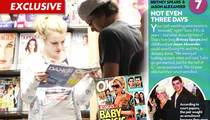 Britney Spears Reads Up on Herself