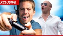 Paul Walker -- Hookin' Up with Vin Diesel for Video Game Fix