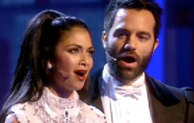 "Nicole Scherzinger Sings ""Phantom of the Opera"" at Royal Event"