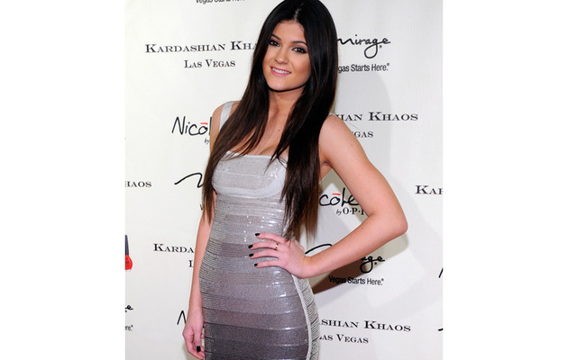 Kylie Jenner -- Too Young To Wear a Bandage Dress?