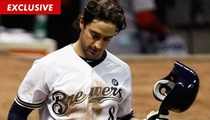 Ryan Braun -- Medication NOT Steroids to Blame for Dirty Banned Substance Test