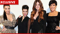 Kardashian Fam -- Prepping to SUE Over Bogus Slave Labor Report