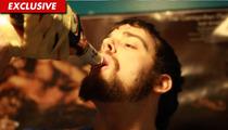 World Champ Eater Patrick Bertoletti Downs TWO Bottles of Manischewitz in SECONDS