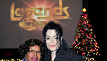 Katherine Jackson Poses for Pic with Michael Jackson Impersonator
