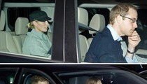 Prince William & Prince Harry Visit Prince Phillip in the Hospital