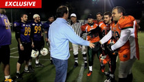 New England Patriots -- Owner's Son Takes in Hanukkah Bowl in Israel
