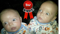 TMZ's Funny Baby Face Contest -- Twinner!