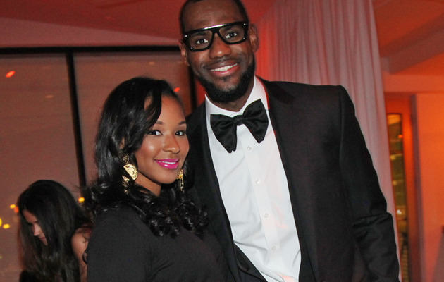 LeBron James: See His Fiancee's Massive Engagement Ring!