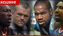 Sports Central at L.A. Courthouse -- 4 Stars, 4 Paternity Hearings, 5 Baby Mamas