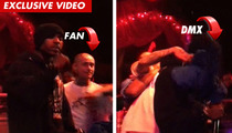 DMX -- Attacked on Stage ... But Doesn't Miss a Beat