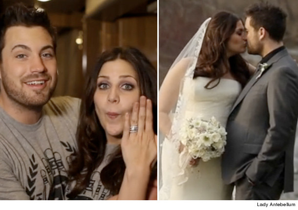 Lady Antebellum Singer Hillary Scott Marries Chris Tyrrell ...