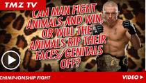 Georges St-Pierre -- The Man Vs. Ape Challenge