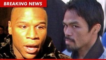 Floyd Mayweather Jr. Challenges Manny Pacquiao ... Again
