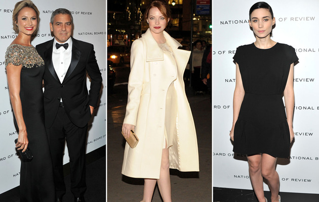 National Board of Review: Emma Stone, Clooney & More!