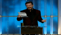Golden Globes -- Did Ricky Gervais Just Out Jodie Foster?
